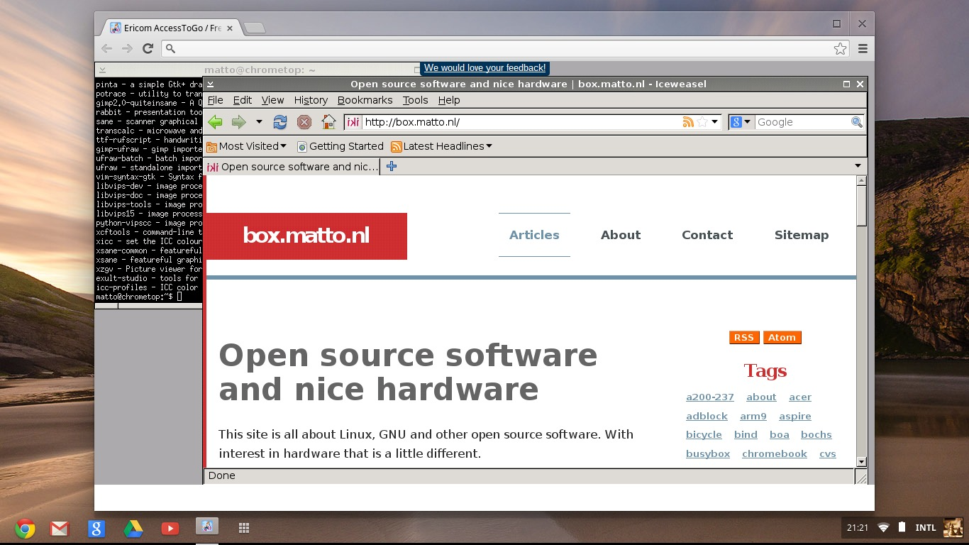 Access your Linux box with RDP from your Chromebook   box